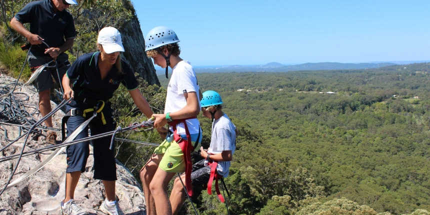 Outdoor education at St Andrew's