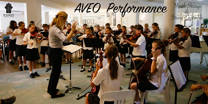String Performances at AVEO Country Club