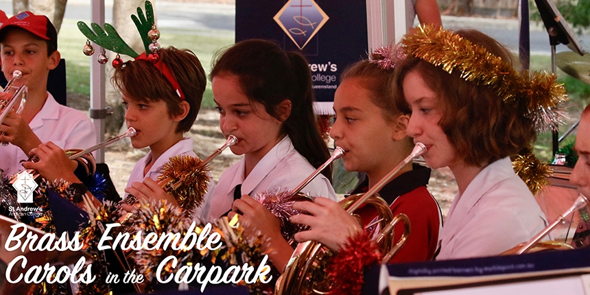Brass Carols Welcome in Christmas